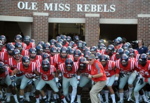 The Ole Miss Rebels