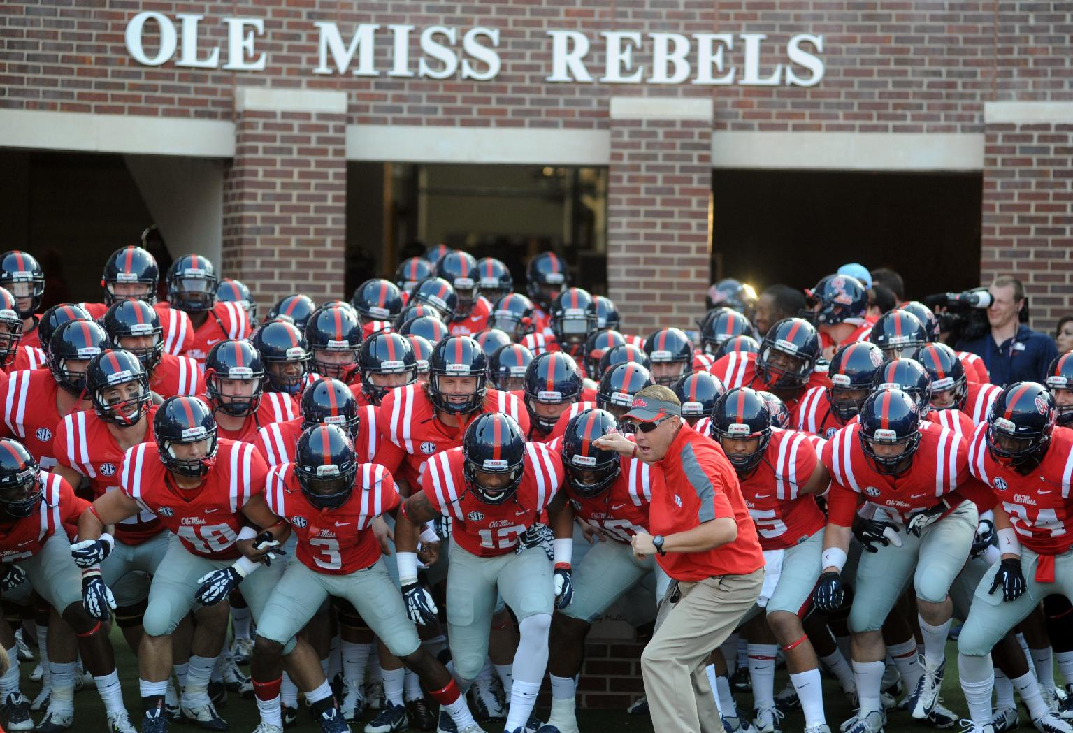 Ole miss gameday colors 2015 - The Ole Miss Rebels