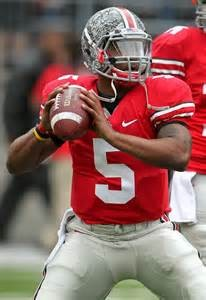 Ohio State 2014-2015 starting quarterback Braxton Miller.