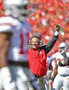Ohio State Head Football Coach Urban Meyer.