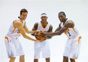 The 3 headed guard monster of Goran Dragic, Eric Bledsoe and Isiah Thomas