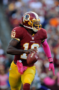 Redskins QB Robert Griffin III