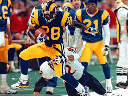 St. Louis Ram,RB, Marshall Faulk