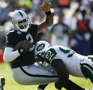 One of the Raider's 1st round busts, JaMarcus Russell.