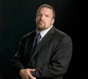 The COO of WWE, Triple H.