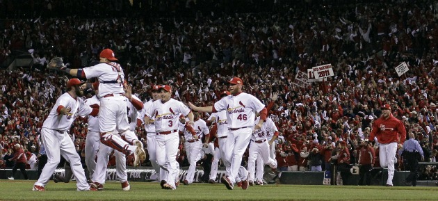 St Louis Cardinals World Series Championship