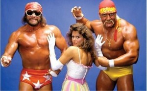 Savage & Hogan as  the Mega Powers