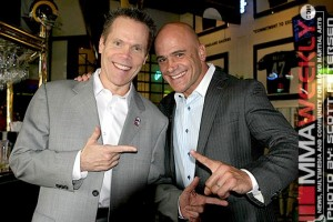 "Bas with ""The Fight Professor"" Stephen Quadros"