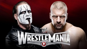 Sting makes his long awaited Wrestlemania debut