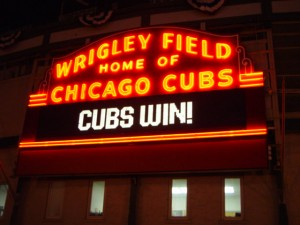 Wrigley_Field_sign_Cubs_Win_2003-10-03