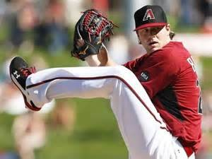 Arizona starting pitcher Archie Bradley.
