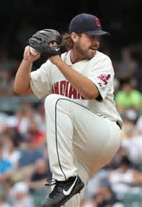 Chris Perez while closing for the Cleveland Indians.