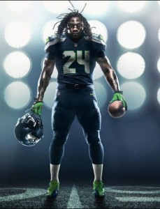 Marshawn Lynch is a Badass Wallpaper by TelephoneWallpaper.com