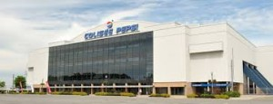 Pepsi Colisee after renovations in 1980