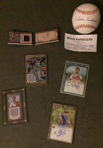 Hits from our latest break including an autographed baseball.