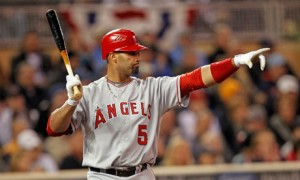 Los Angeles Angels' Albert Pujols