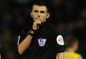 Michael Oliver referee 2014-15