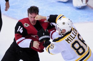 NHL: Boston Bruins at Arizona Coyotes