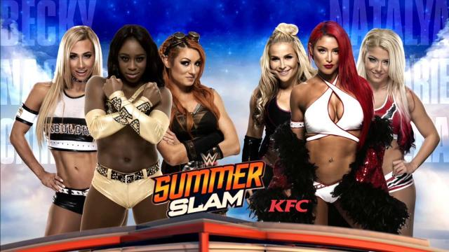 Six Woman Match @ SummerSlam 2016