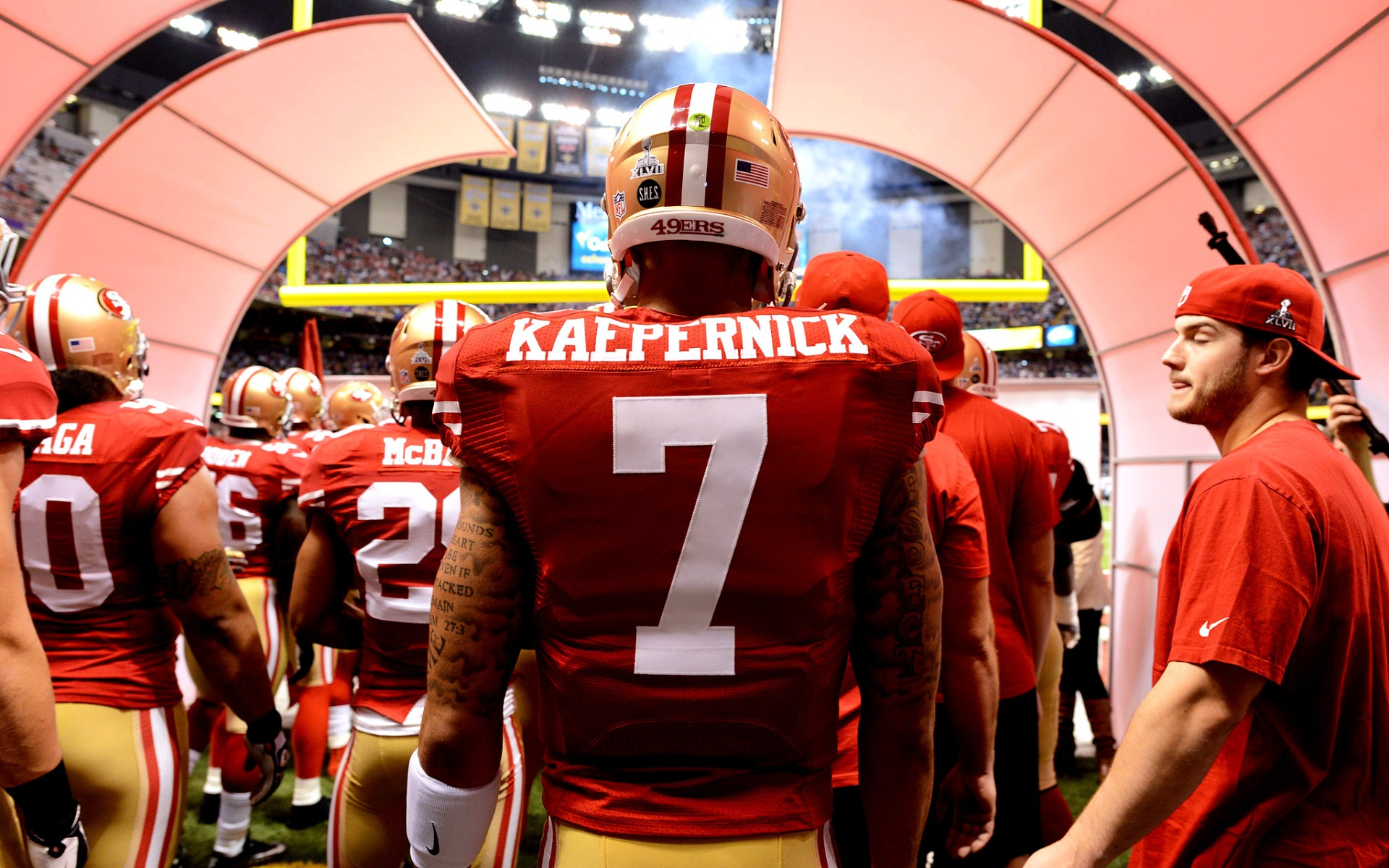 2caff830d Retired Police Officer Posts Open Letter to Kaepernick – Cleat Geeks