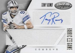 2015-panini-certified-football-fabric-of-the-game-signatures-romo
