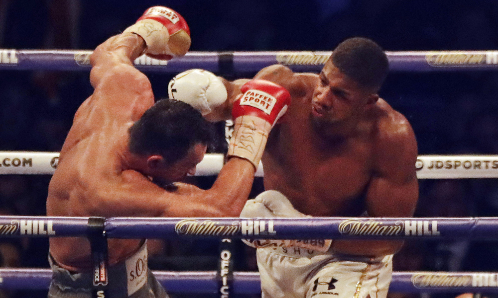 There's a new king in the heavyweight division and his name is Anthony  Joshua. The 27 year old boxer knocked out Wladimir Klitschko in the 11th  round in ...