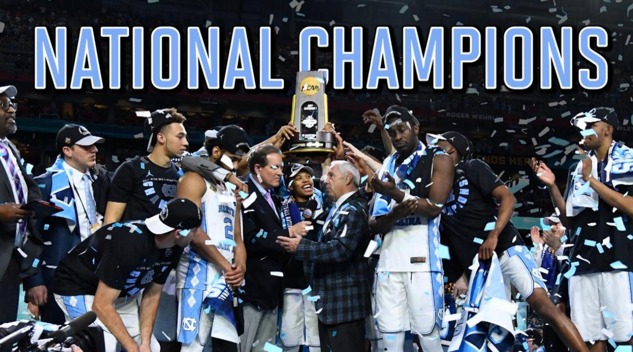 Highlights from the national championship gonzaga vs north carolina - The North Carolina Tar Heels Avenged Their Loss In The National Championship Last Year By Defeating Gonzaga 71 65 To Win Their 6th Title